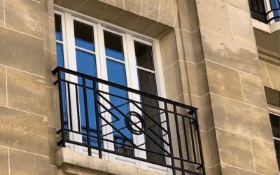Fenêtre en bois à Paris